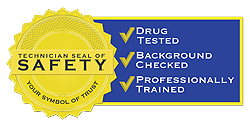 Our Techs in 92781 Are Drug Tested Background Checked and Professionally Trained